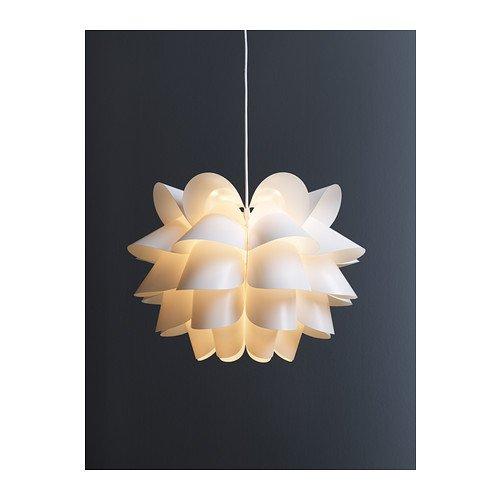 Ikea Knappa - Lampadario a sospensione, 46 cm, colore: Bianco