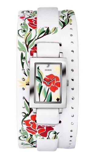Guess 70601L1 - Reloj de mujer de cuarzo con correa de piel