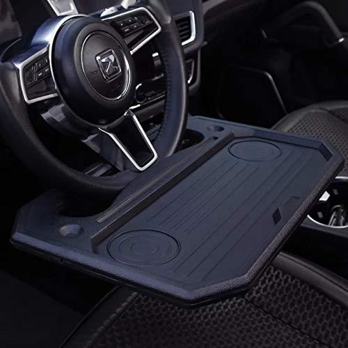 SANMITTI Trading car 1pcs Eating/Laptop Steering Wheel Desk Black