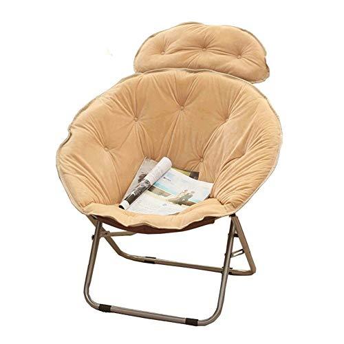 WEHOLY -Fashion Creative Chaise Confortable et Confortable, Grand Fauteuil Fauteuil Fauteuil inclinable pour canapé-Lit Grand canapé Tabouret de Bar (Couleur: Kaki)