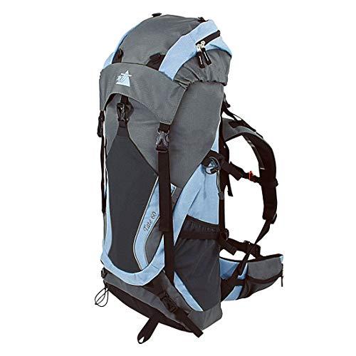 10T Outdoor Equipment Tate 60 Sac marin, 80 cm, liters, Bleu (Blau / Grau)