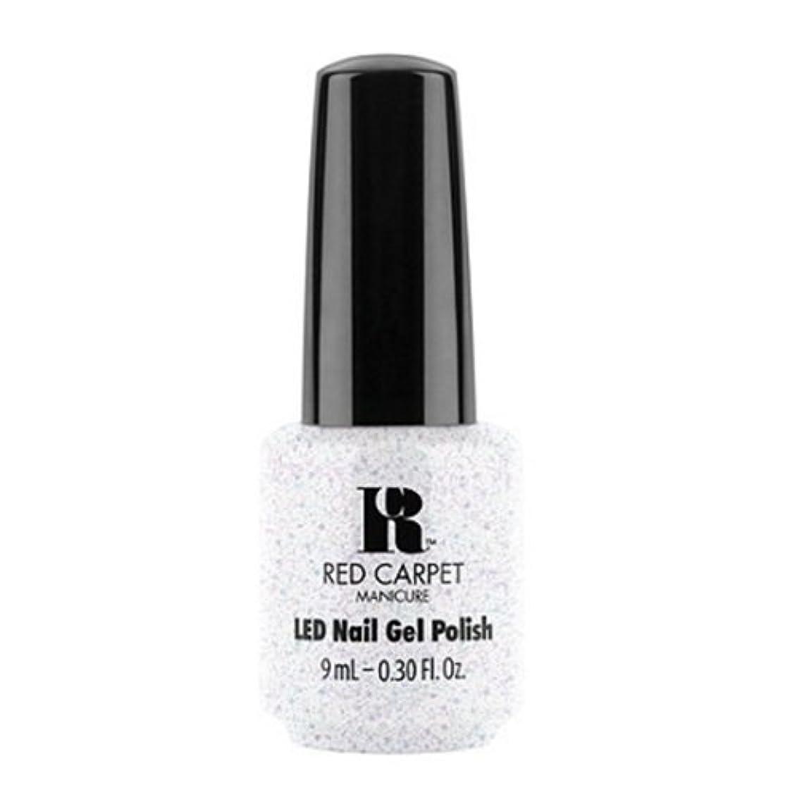 安定しました無謀翻訳者Red Carpet Manicure - LED Nail Gel Polish - Rising Star - 0.3oz / 9ml