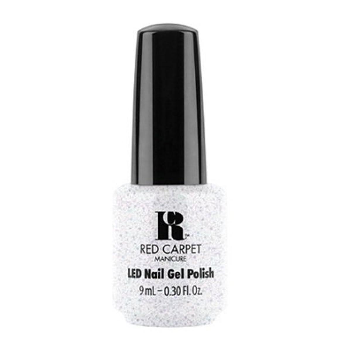 徒歩で樫の木近代化するRed Carpet Manicure - LED Nail Gel Polish - Rising Star - 0.3oz / 9ml