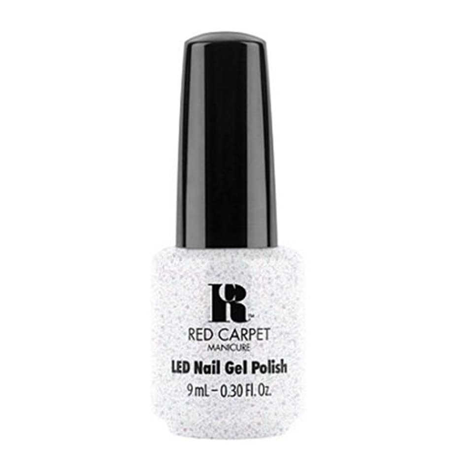 旋回悪用不承認Red Carpet Manicure - LED Nail Gel Polish - Rising Star - 0.3oz / 9ml