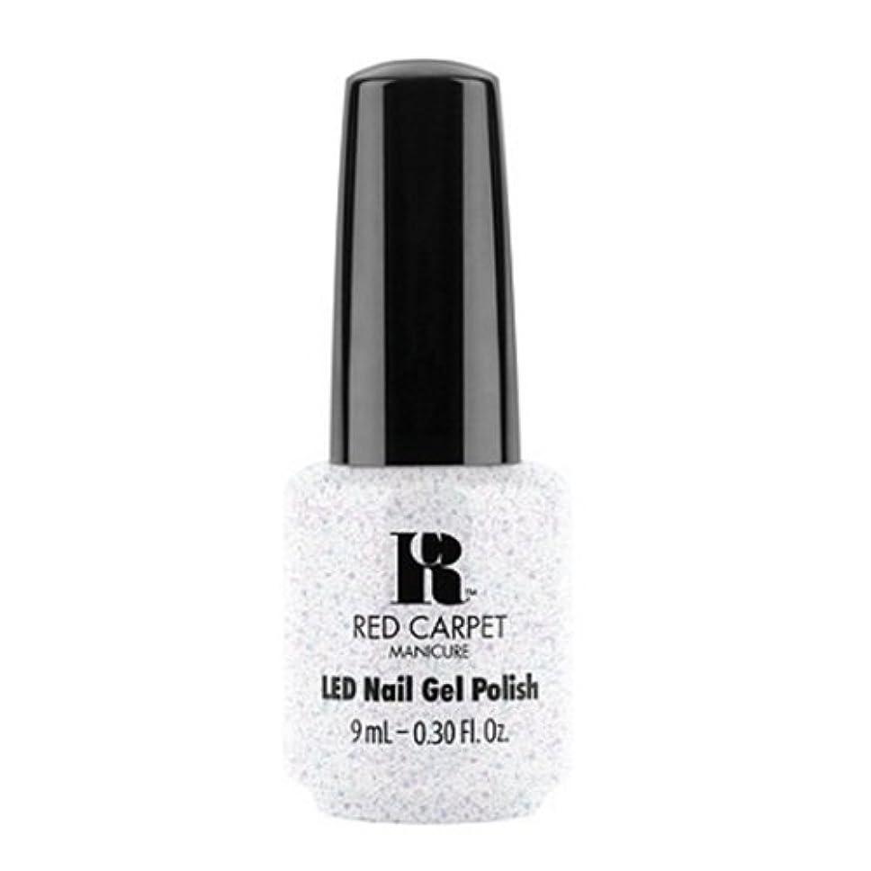 牧草地メディア平凡Red Carpet Manicure - LED Nail Gel Polish - Rising Star - 0.3oz / 9ml