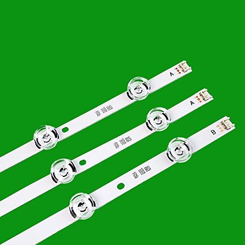 3 x LED backlight Strip for LG 32'TV innotek drt 3.0 32 LGIT drt3.0 WOOREE A/B UOT 32MB27VQ 32LB5610 32LB552B 32LF5610 lg32lf560