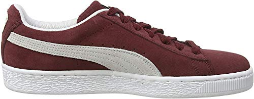 Puma - Suede Classic+ - Baskets mode - Mixte Adulte - Rouge (cabernet-white) - 38 EU