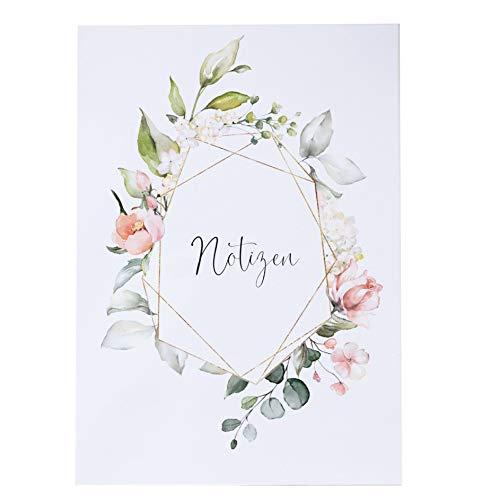 Notizen Planer Blütenzauber DIN A 5 blanco Tagesplaner Hochzeit Geschenk