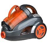 LQPOUXCQ aspirateur balai Aspirateur 2600W électrique Aspirateurs Canister Haute Puissance d'aspiration des ménages Aspirateur (Color : Orange)