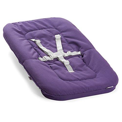 moodelli Growi – Racks Hamac pour Chaise Haute, 0 mois + Harnais et accessoires de pose, couleur violet