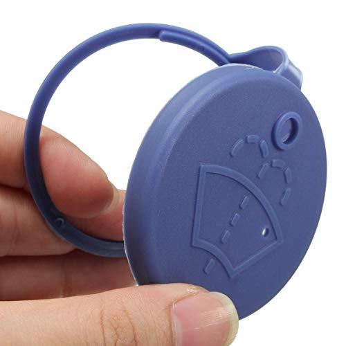 1x Verschlussdeckel Kappe für Wischwasserbehälter der Scheibenwaschanlage Waschwasserbehälter Deckel Scheibenreininung Verschluss (106021) - Hallenwerk