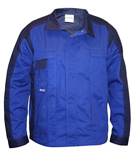 Format Herren Arbeitsjacke S-3XL Schutzjacke Arbeitsbekleidung Jacke Berufsjacke (XXL, Royalblau)