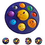 BULINGNA Solar System Pop Press Fidget Toys Early Education Eight Planets Mouse Bubble Popper Sensory Simple Toy (Planets)
