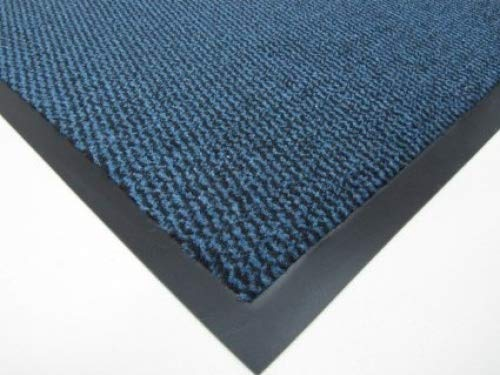 Think-Louder Anti Slip Rubber Outdoor Floor Mat, Entrance barrier Rugs Home Kitchen Office Door runner in and sizes 40x60/60x90/60x180/90x150/120x180 - BLUE 60X180