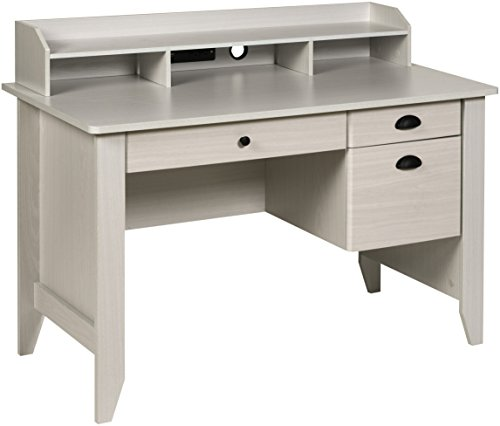 OneSpace Executive Desk, White Oak