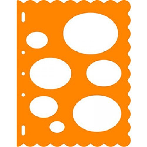 Fiskars Shape TemPlate Ovals, Template for creating ovals, 1003824