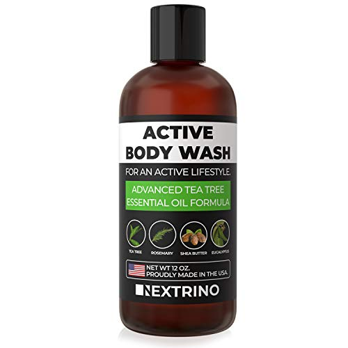 Tea Tree Oil Body Wash - USA Made Liquid Shower Gel...