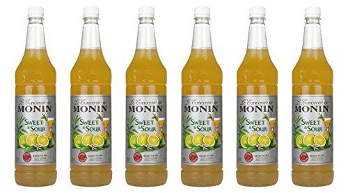 Monin Sweet & Sour, 1,0L PET, 6er Pack