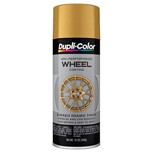 Dupli-Color - EHWP11100 Wheel Coating, Gold, 12 oz.