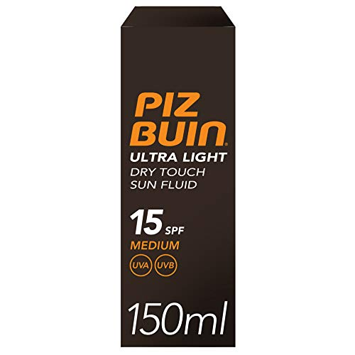 Piz Buin Sonnencreme Ultra Light Dry Touch SPF15 150 ml