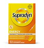 Supradyn Activo Multivitaminas para Todos con Vitaminas, Minerales y Coenzima Q10, Ayuda a Activar y Mantener tu Energía y Reducir el Cansancio, 30 Comprimidos