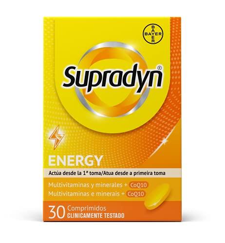 Supradyn Activo Multivitaminas para Todos con Vitaminas, Minerales y Coenzima