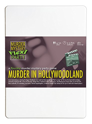 Murder Mystery Flexi Party Murder in Hollywoodland 4-12 Player