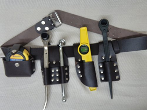 New Edition Scaffolding Leather Tool Belt 5 in 1 Edition – 4 PCS Tools Included
