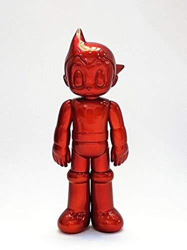 ZHANG 5,3-Zoll-Rot Metallic Astroboy Abbildung Mighty Atom Spielzeug Sammler Puppe Raum-Dekoration Exquisite Box-Packed for Hobbies Collecting