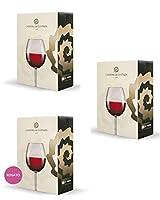 bag in box misto rosso - 3 confezioni da 5 litri - 5 litri di merlot veneto igt - 5 litri di corvina veneto igt - 5 litri di rosato veneto igt