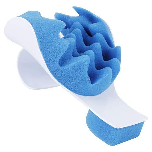 Dispositivo de relajación muscular Almohada de soporte para el cuello Almohada de alivio de masaje de viaje Cuello Hombro Masajeador de cuello Soporte Almohada de cuello para regalo para el
