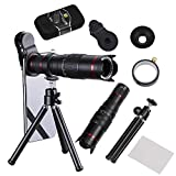 Camera Lens,BECEMURU 22X Telephoto Zoom Camera Lens Kit Double Regulation HD Scale Distance