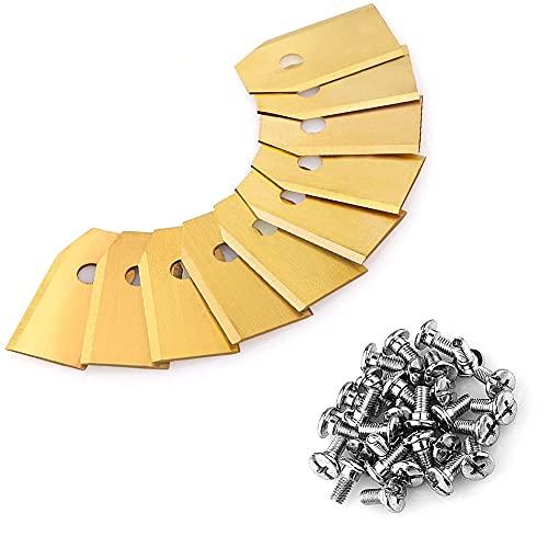 30 cuchillas de repuesto para robot cortacésped Automower de las marcas Husqvarna, Gardena, Yard Force, para 105, 310, 315, 320, 420, 430x, r40i