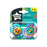 Tommee Tippee Chupete Fun 2 Unidades, 0-6 m