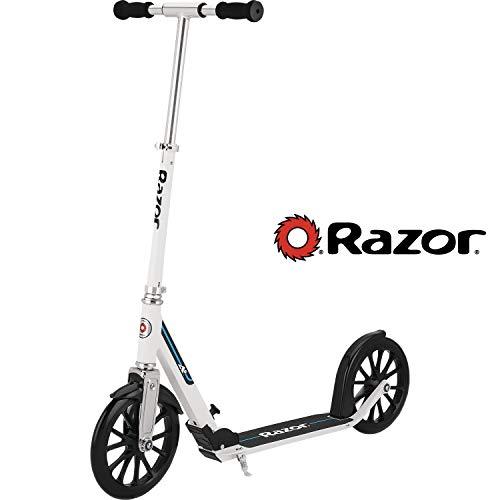 Razor A6 Kick Scooter - White - FFP