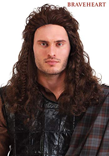 Fun Costumes Wig Braveheart William Wallace Standard