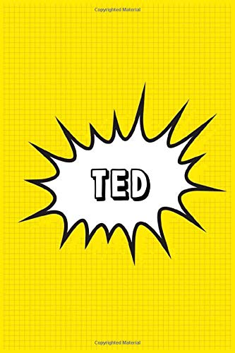 Ted: Personalized Name Ted Notebook, Gift for Ted, Diary Gift Idea