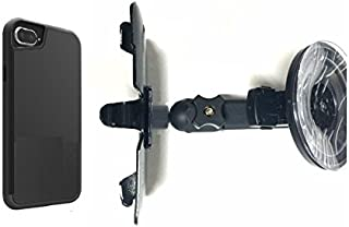 SlipGrip Car Holder For Apple iPhone 8 Plus Using MegaTiny MegaVerse Anti-Gravity Case HV