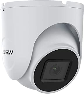 H.View ドーム型防犯カメラ PoEカメラ 500万画素 IPカメラ 5MP 防犯カメラ 2.8mmレンズ 内蔵オーディオ IP66防水防塵 24個赤外線LED搭載 暗視撮影25M 動体検知機能 遠隔監視操作 メールお知らせ ネットワークカ...