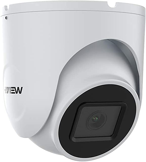 Dome 5MP Cámara PoE IP 1944P FHD 2.8mm Cámara de seguridad con micrófono para detección de movimiento de visión nocturna ONVIF IR IP67 a prueba de intemperie