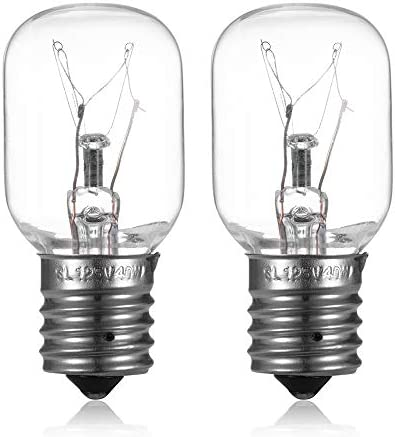 Microwave Light Bulb Stove Light Lamp Compatible with Whirlpool GE Kenmore LG Microwave Dimmable product image