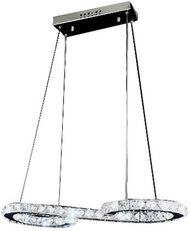 Ouku Crystal-LED-Glühbirne enthalten Anhnger, minimalistisch modernen Metal Plating Pendelleuchten - Kristall LED - Zeitgenssisch - Wohnzimmer Esszimmer