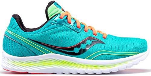 Saucony Women's S10551-10 Kinvara 11 Running Shoe, Blue Mutant - 5 M US