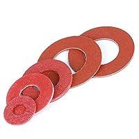 絶縁ガスケット、ガスケット、赤鋼板、高速ビームレッドメッシュ、高温赤紙ガスケット、M2M2 5-M8-4 * 12 * 0.5 * 500ピース