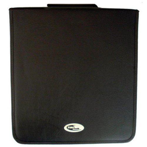 Neo Media 1 X 400 Capacity CD DVD Ring Binder Wallet Leather Storage Carry Case