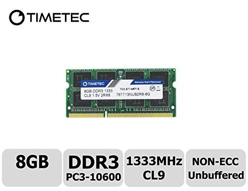 Timetec Hynix IC 8GB DDR3 1333MHz PC3-10600 Unbuffered