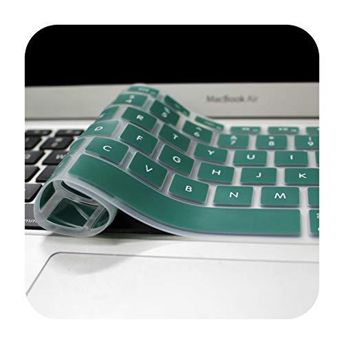 Funda para teclado compatible con MacBook Pro de 13 pulgadas, 15 pulgadas, 17 pulgadas, 13 pulgadas, para MacBook Air de 13 pulgadas, para iMac, teclado inalámbrico, color dorado