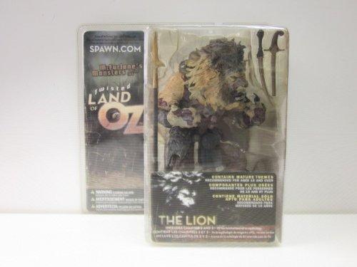 Twisted Land of Oz Lion Figure Dark Skin Tone Version McFarlane Monsters Series 2 by McFarlane