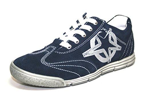 Richter leren sneaker sneaker leer schoenen jongens kinderen 3723 524