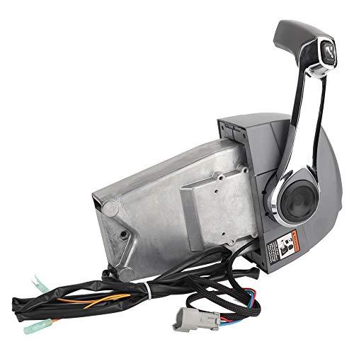 EBTOOLS Buitenboordmotor Afstandsbediening Doos, RVS Enkele Boot Console Mount Afstandsbediening Assembly, 5006182